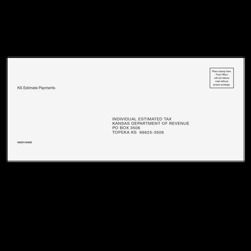 KSEST10 - CA Refund Envelope 6 x 9