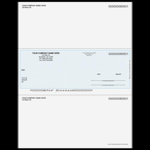 L80931 - Multi-Purpose Middle Business Check