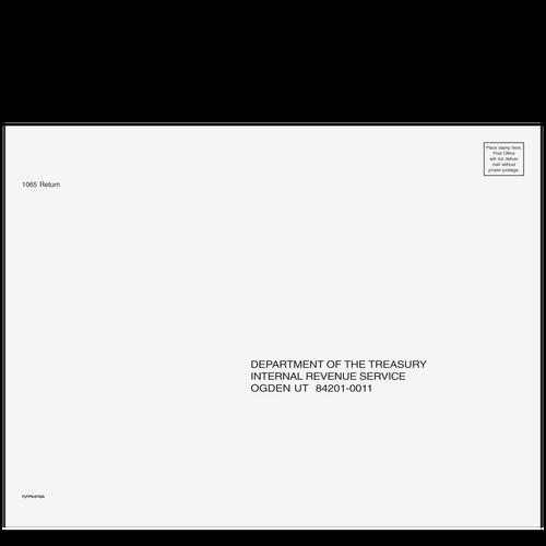 FUTP910 - 1065 Partnership Envelope - Ogden, UT 9 x 12