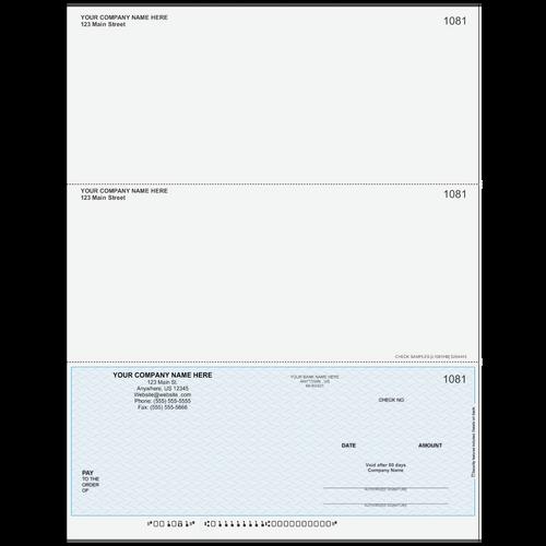 L1081 - Multi-Purpose Bottom Business Check