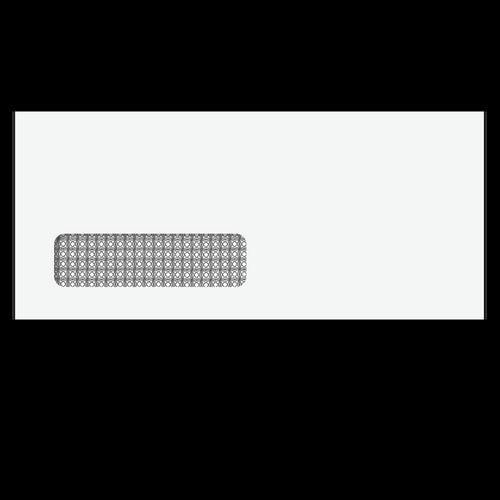 80712 - Single Window Envelope - Moisture Seal - 3 7/8 x 8 7/8