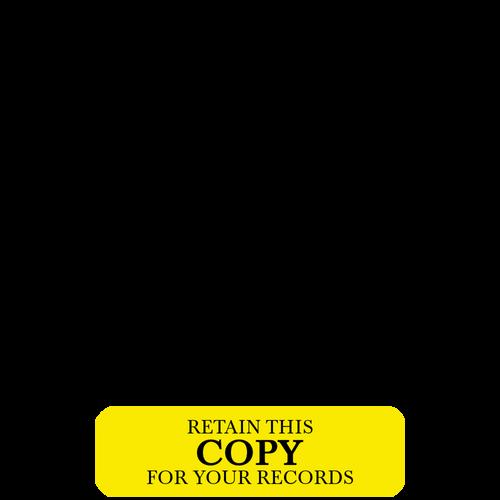 RT418 - RediTag 'Retain This Copy' (120 Tag Dispenser)