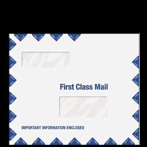 ENV600 - 10.25 x 12 Double Window 1st Class Envelope