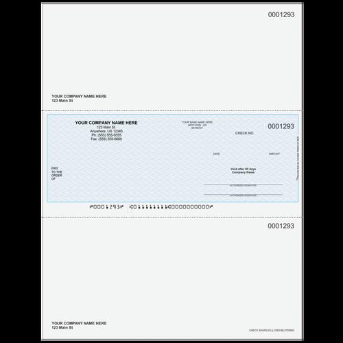 L1293 - Multi-Purpose Middle Business Check