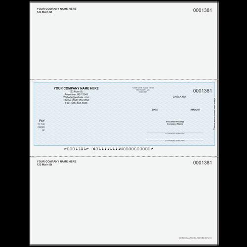L1381 - Multi-Purpose Middle Business Check
