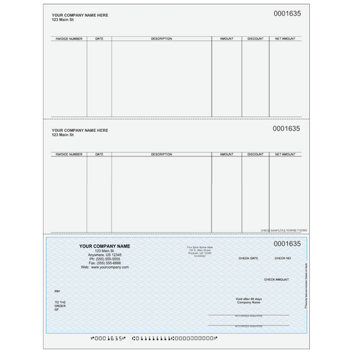 L1635 - Accounts Payable Bottom Check