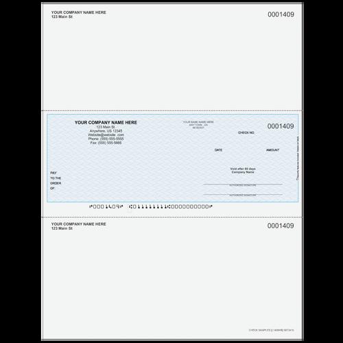 L1409 - Multi-Purpose Middle Business Check