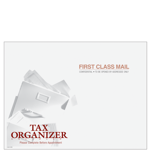 E046 - Tax Recordkeeping Envelope for Organizers