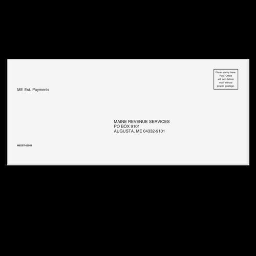 MEEST10 - Maine Estimate Envelope