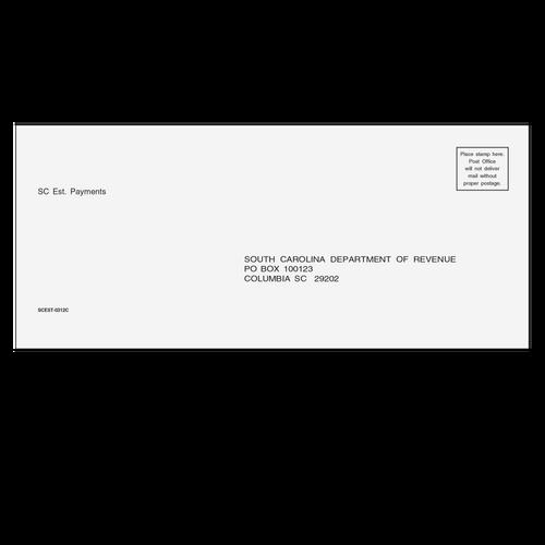 SCEST10 - SC Estimate Envelope 3 7/8 x 8 7/8