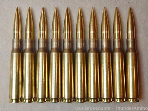 50 BMG 802 gr TASS WCC Brass Match Single Shot 10 Rounds --