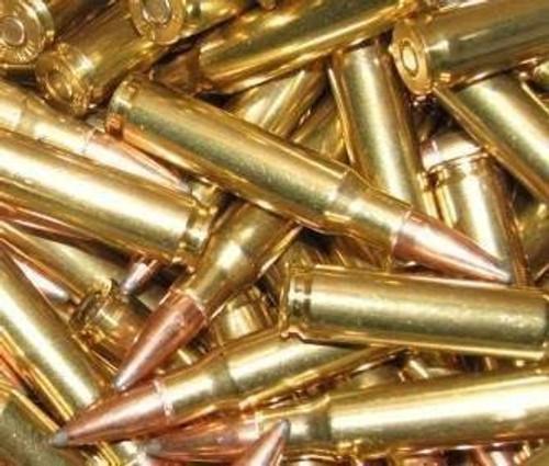 308 Winchester Brass Hornady 165 gr BTSP 250 Rounds --