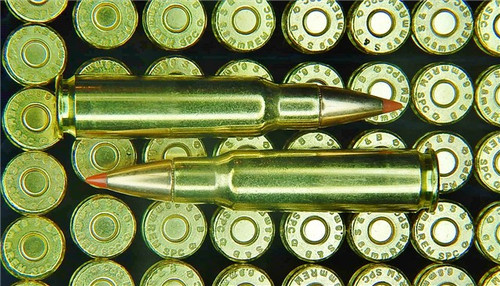 6.8 SPC 120gr SST Sellier & Bellot Brass 100 Rounds