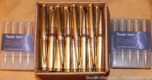 50 BMG 710 gr Match82 New CBC Brass 100 Rounds