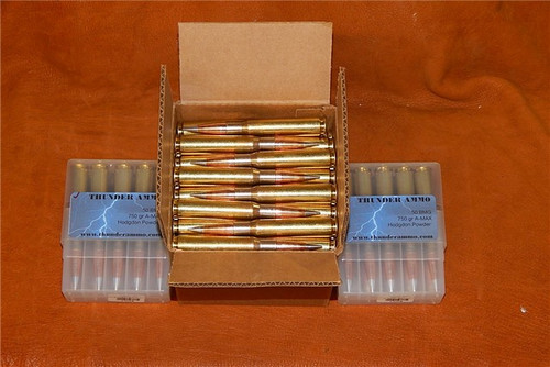 50 BMG 750gr Amax Precision Ammo 100 Rounds