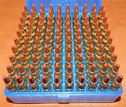 223 55gr Vmax New WCC Brass W/ Crimp  5.56x45 200 Rounds