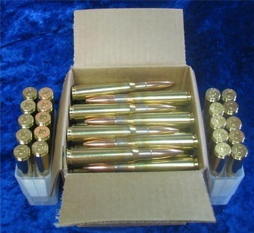 50 BMG 690gr. Ball New CBC Brass 100 Rounds
