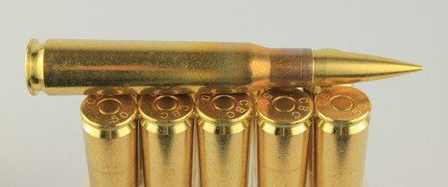 50 BMG 710gr Match-82 New CBC Brass 10 Rounds --