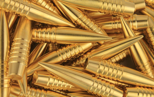 Match-82 740 gr 50 BMG Solid Brass Projectiles 50 Count