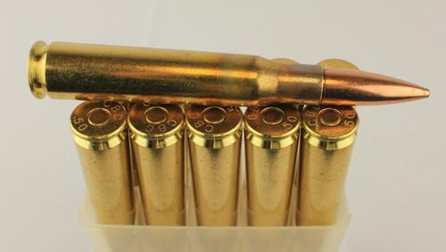 50 BMG 690gr Ball CBC Brass 10 Rounds --