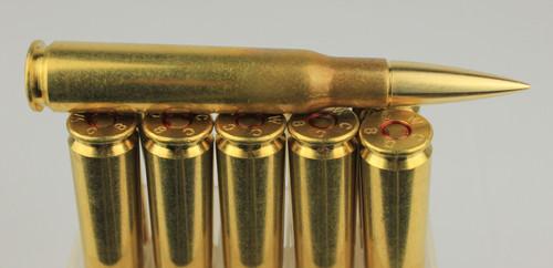 50BMG 740gr Match-82 New Winchester Brass 10 Rounds --