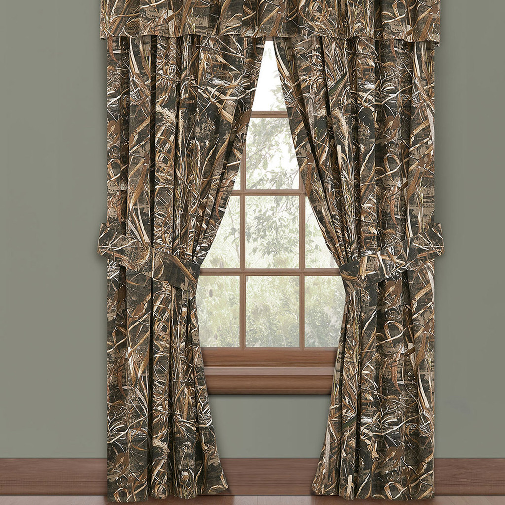 Realtree Camo Window Drapes in Max-5