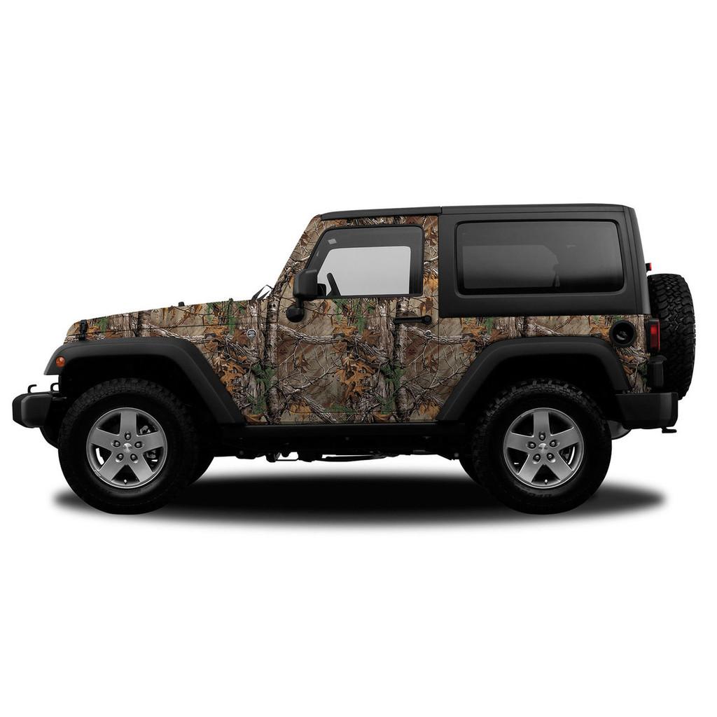 Realtree Camo Jeep/SUV Vehicle Wrap Xtra