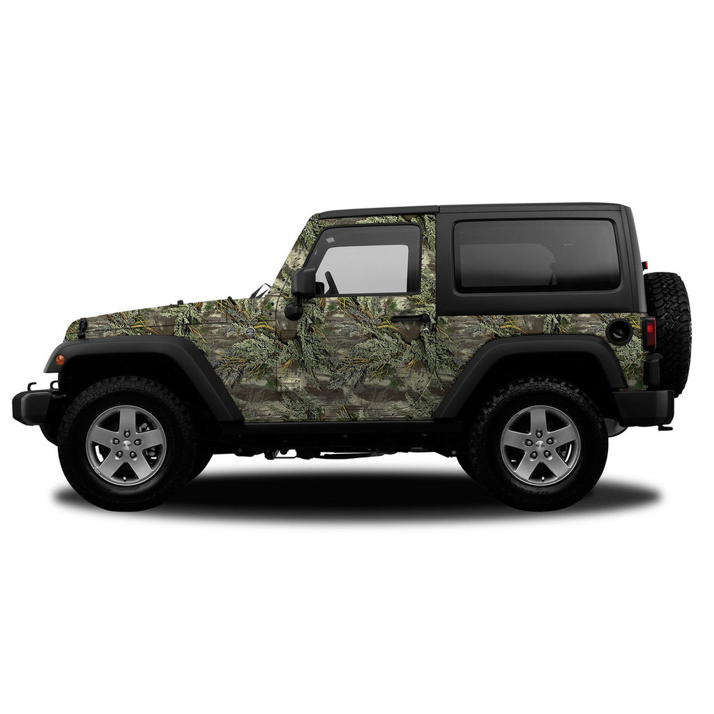Realtree Camo Jeep/SUV Vehicle Wrap Max-1