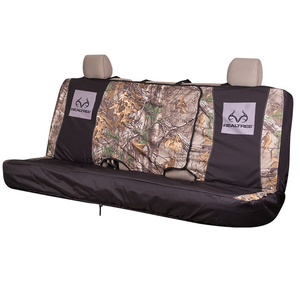 Realtree Switch Back Bench Seat Cover in Xtra