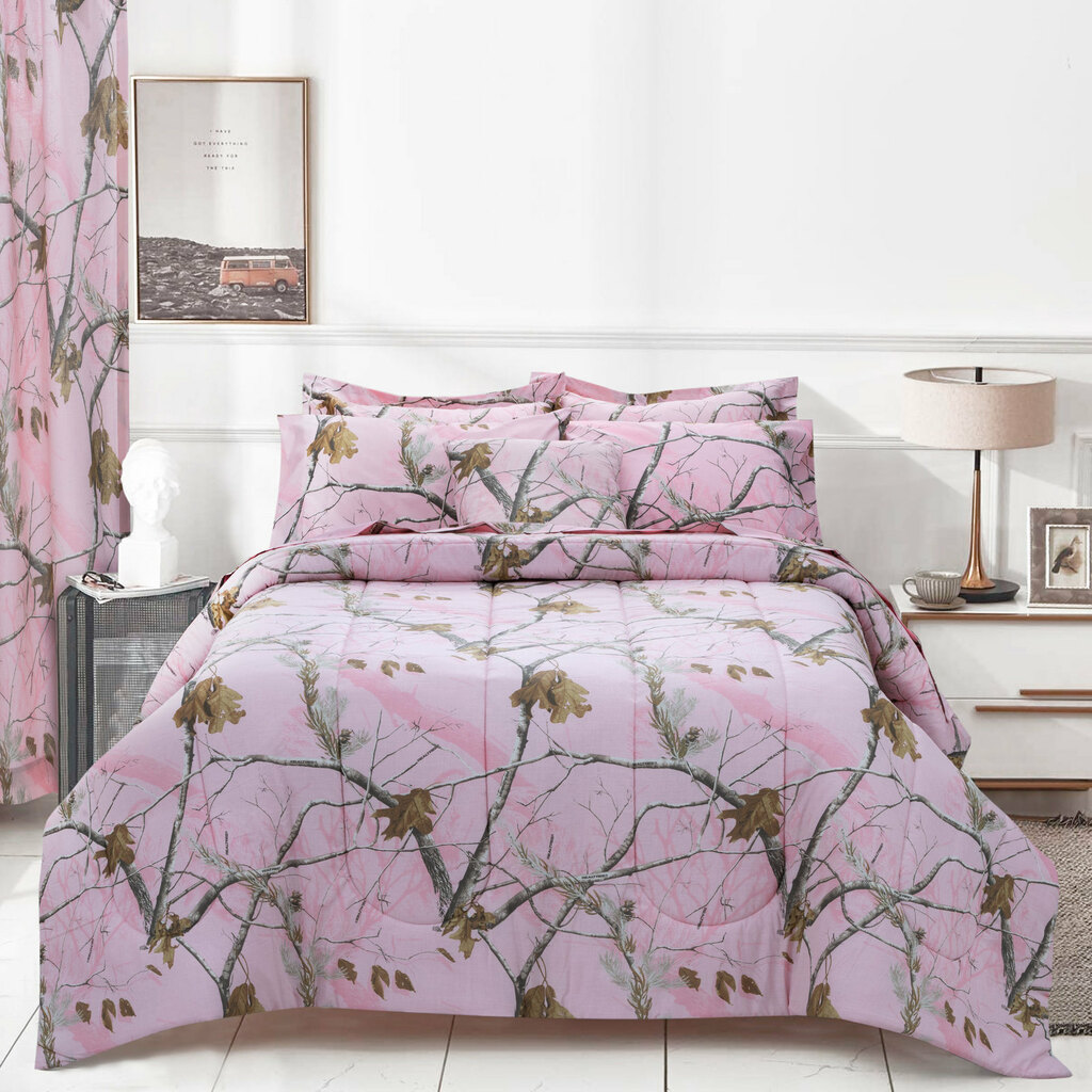 Realtree AP Pink Comforter Set