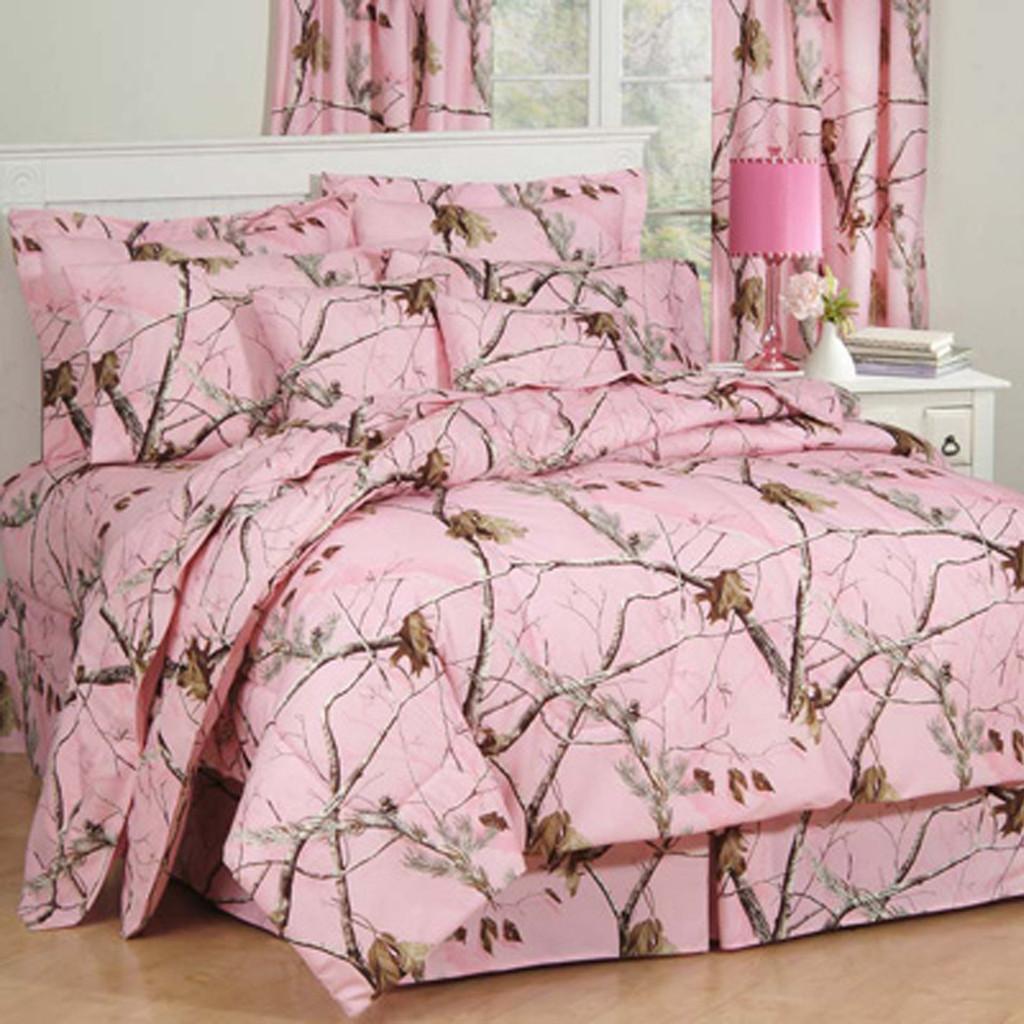 Realtree AP Pink Camo Comforter Sets  cc450a833