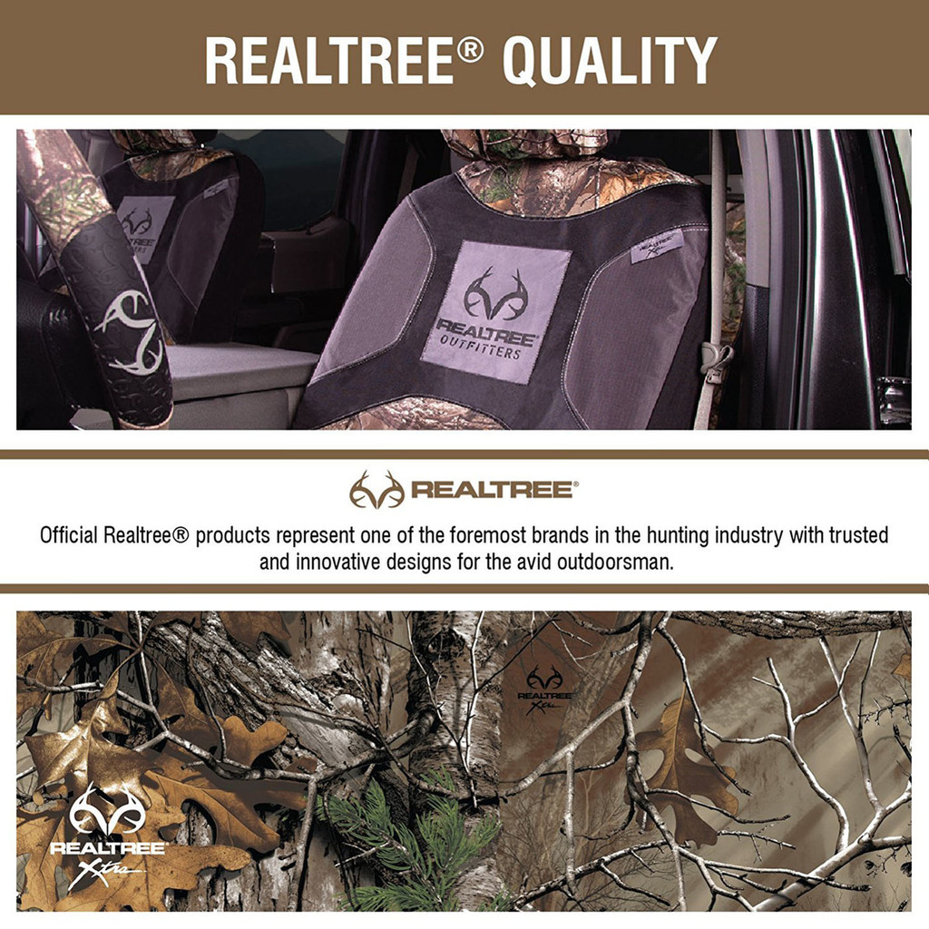 Realtree Xtra Camo 2-Piece Rear Floor Mats Color