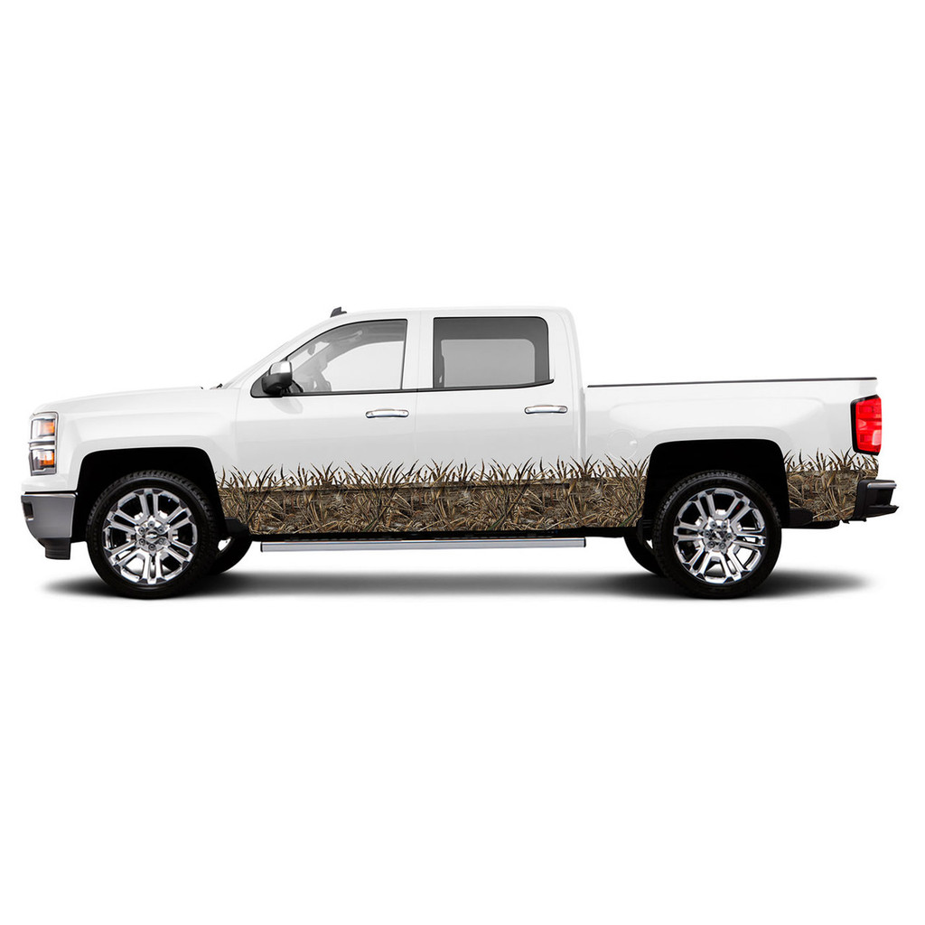 Realtree Max-5 Grassy Effect Lower Kit for Regular Cab Truck/SUV/Car