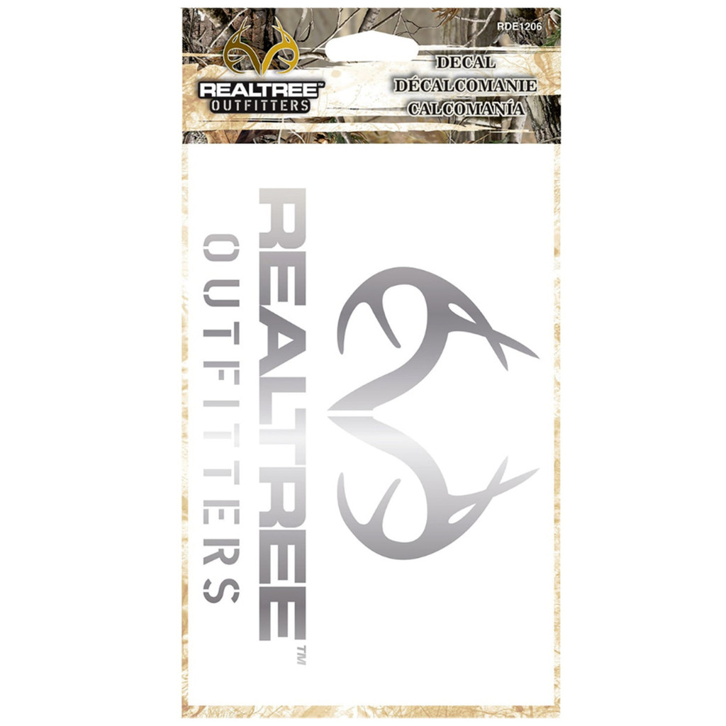 Realtree Silver Antler Decal Package
