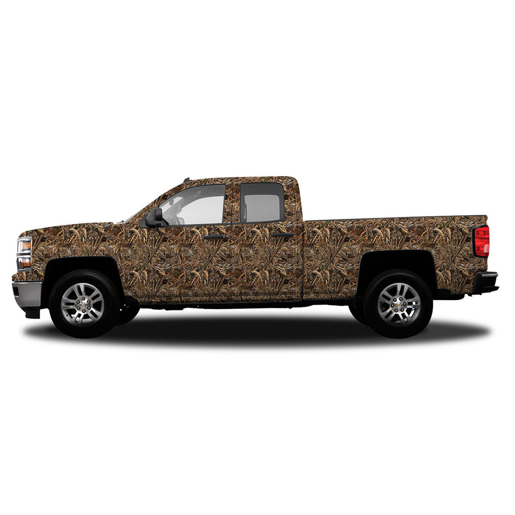 Realtree Standard Size Vehicle Wrap shown in Realtree Max-5