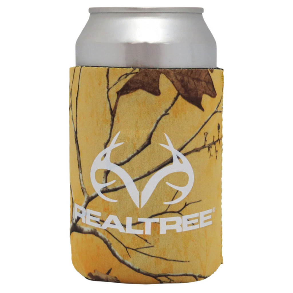 Realtree Magnetic Antler Logo Can Koozie Xtra Tropical Heat