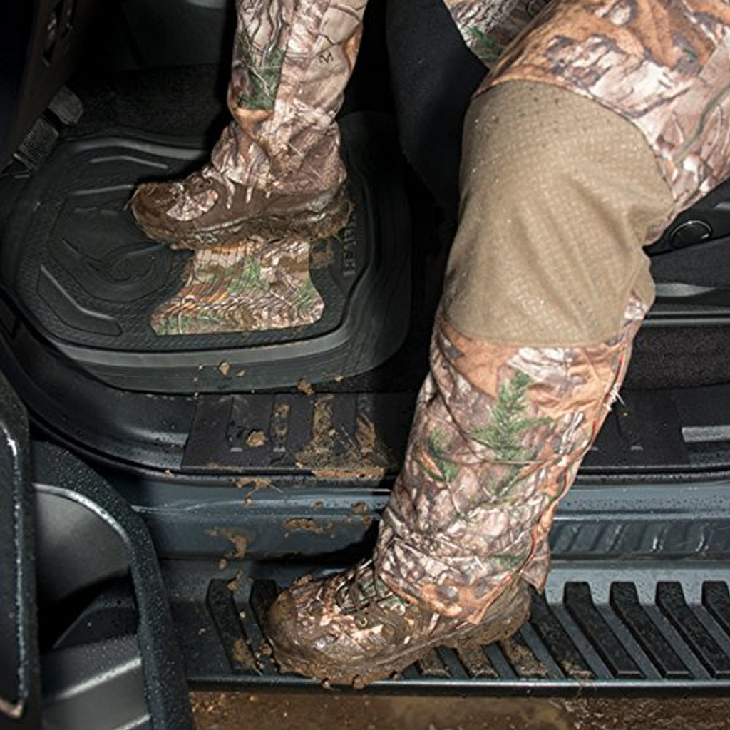 Realtree Outfitters Xtra Floor Mats Dirty