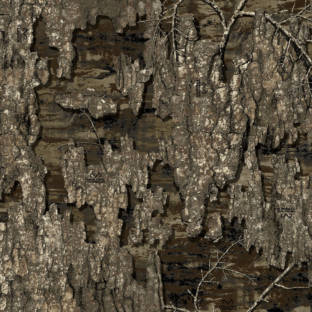 """Realtree Timber 3M 48"""" height Cast Vinyl / Matte Lamination ( By Foot )"""