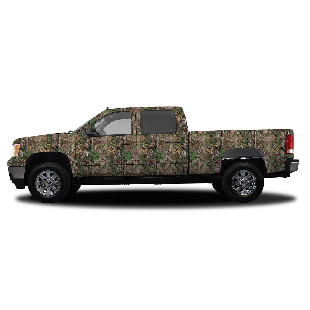 Realtree Camo Deluxe Size Vehicle Wrap Xtra Green