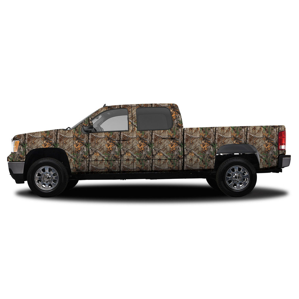 Realtree Camo Deluxe Size Vehicle Wrap Xtra