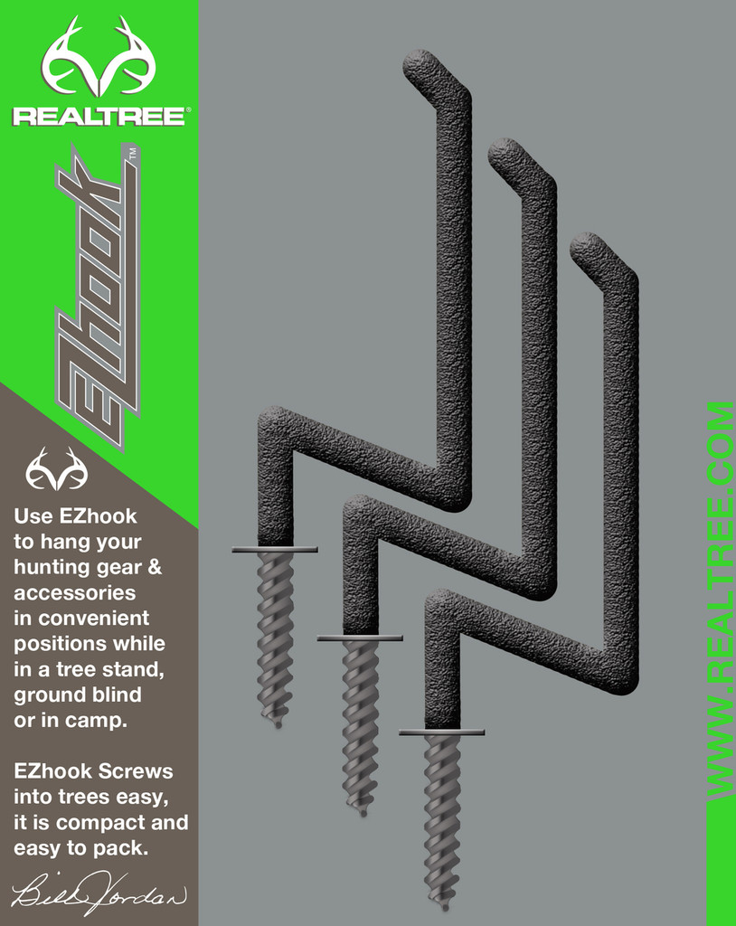 Realtree EZ Hook (3-Pack) in Package