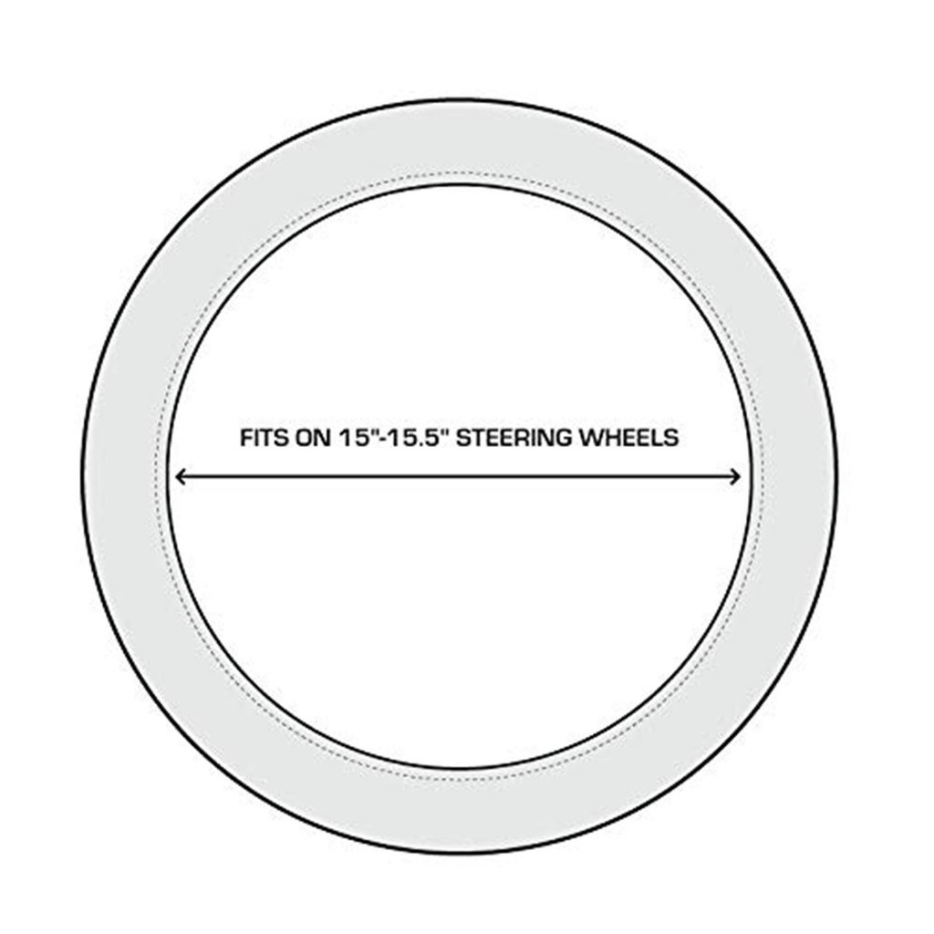 Realtree Xtra Steering Wheel Cover Sizing