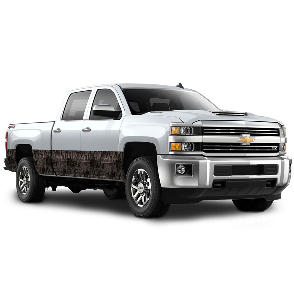 "Camo Accent Vehicle Wrap (16"" X 28') Timber"