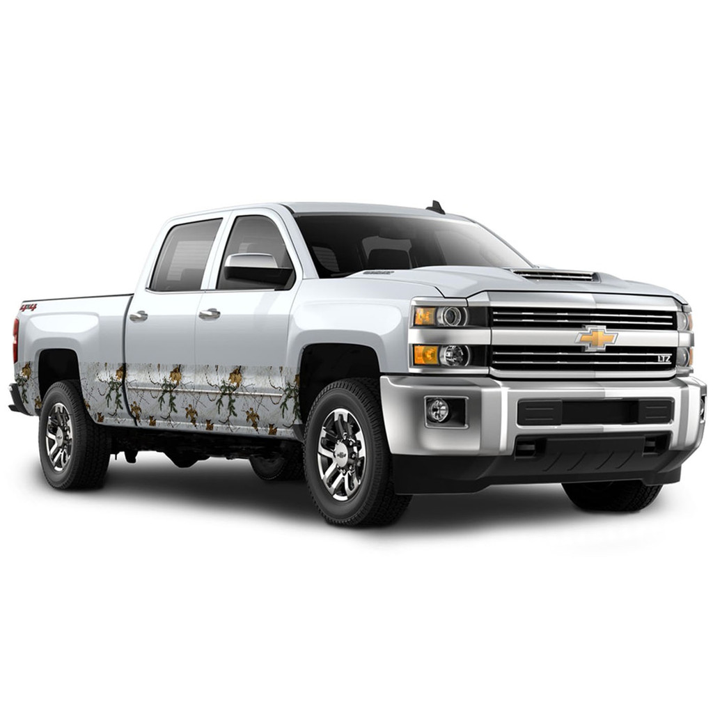 "Camo Accent Vehicle Wrap (16"" X 28') Xtra Snow"