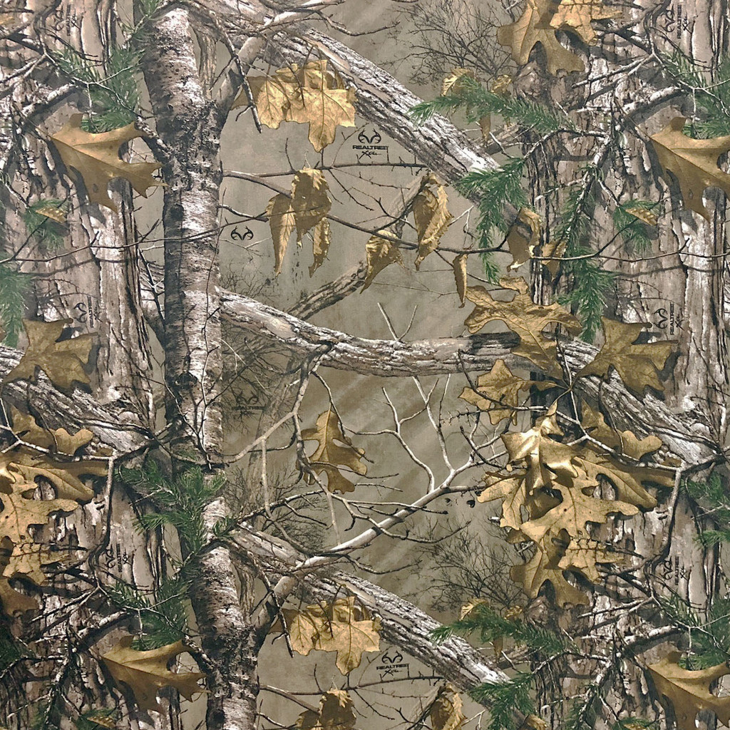 Realtree Camo Xtra Poly Tricot Microfiber Brushed Fabric (lightweight)
