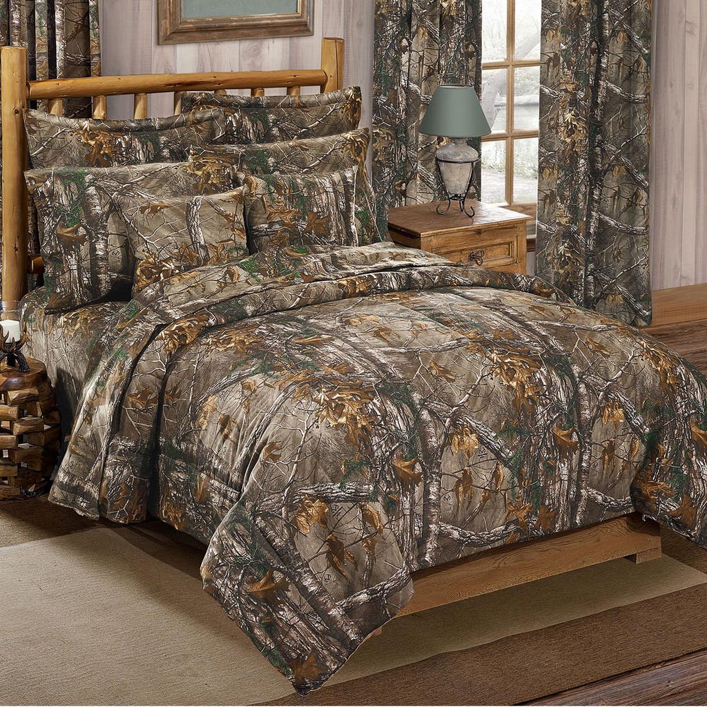 Comforter Sets.Realtree Xtra Camo Comforter Sets