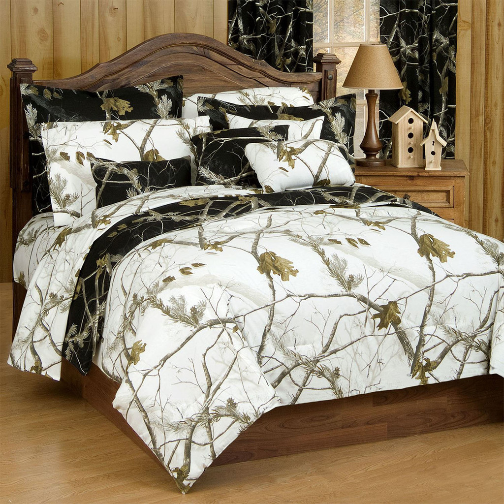 Realtree AP Black Camo Twin Comforter | Camo Bedding - Realtree Camo ...