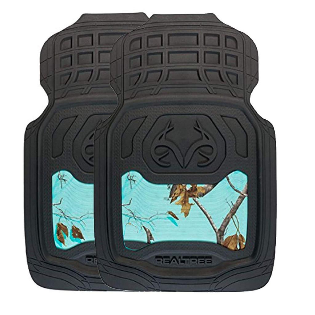 Realtree Mint Camo Front Floor Mats