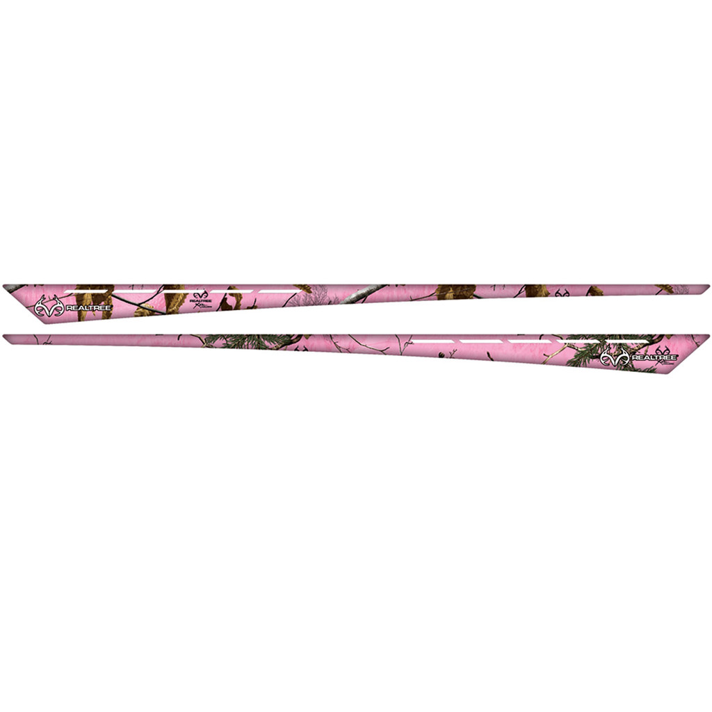 Realtree Tapered Auto Accent Graphic Xtra Pink