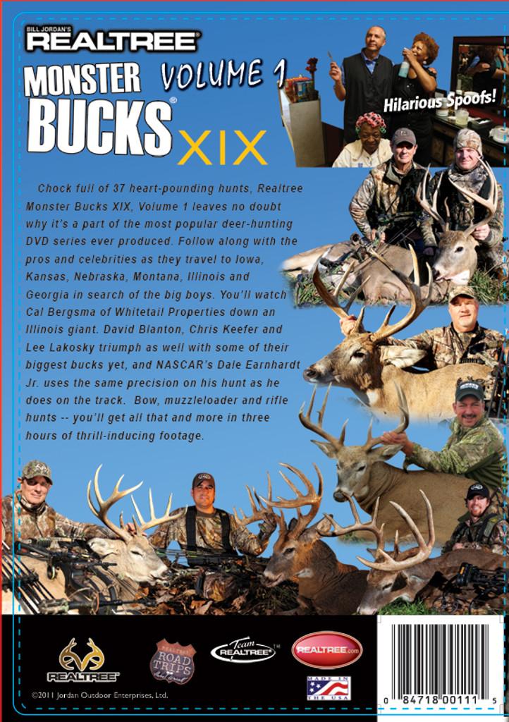 Monster Bucks XIX, Volume 1 Back Cover